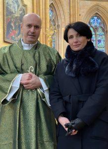 Le diacre Edgar et son épouse Aline